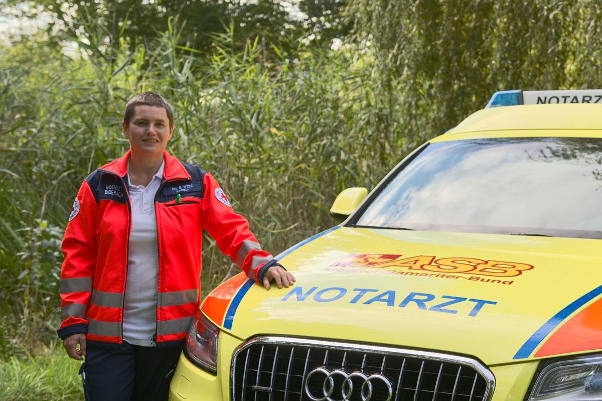 Dr. Sofia Titze Notärztin im Dienst